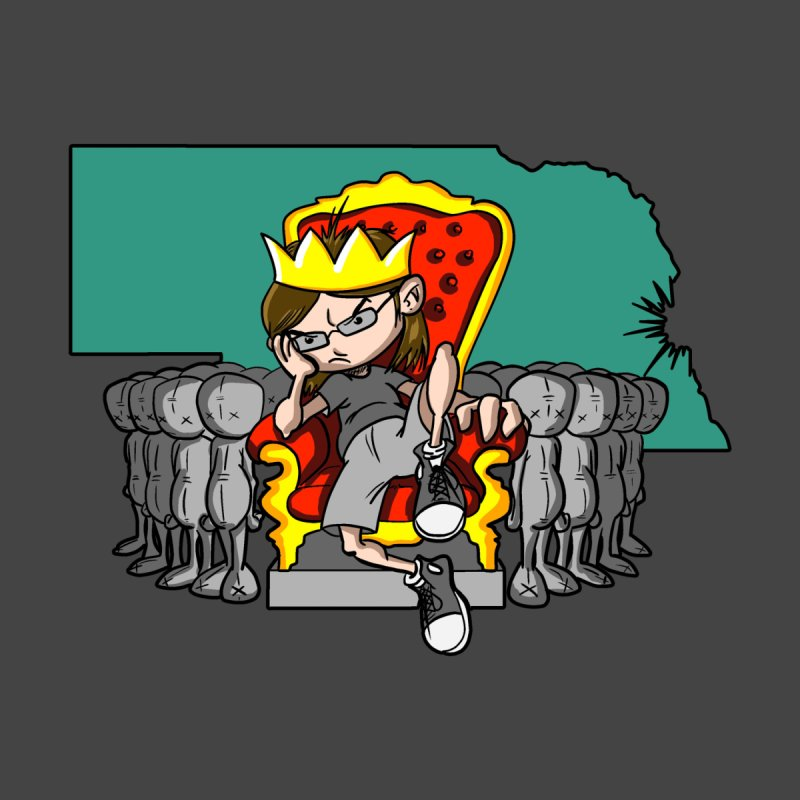 King of Nebraska Women's Tank by Comedyrockgeek 's Artist Shop