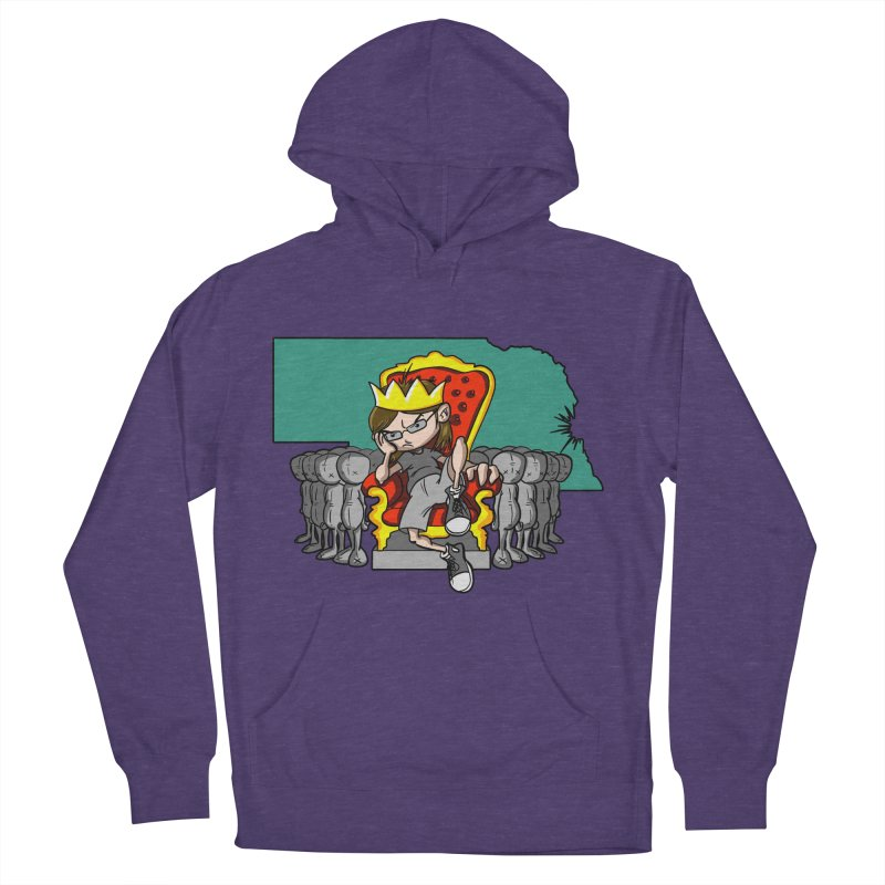 King of Nebraska Men's French Terry Pullover Hoody by Comedyrockgeek 's Artist Shop