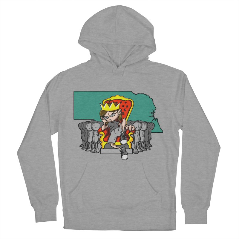 King of Nebraska Men's Pullover Hoody by Comedyrockgeek 's Artist Shop