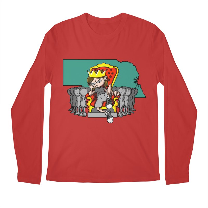 King of Nebraska Men's Longsleeve T-Shirt by Comedyrockgeek 's Artist Shop