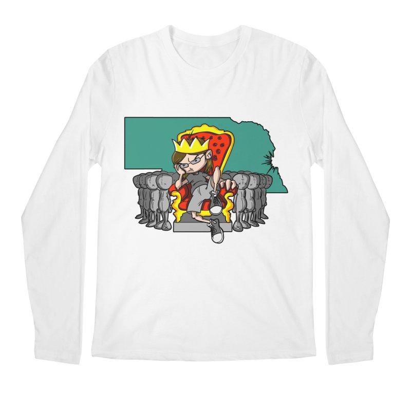 King of Nebraska Men's Regular Longsleeve T-Shirt by Comedyrockgeek 's Artist Shop