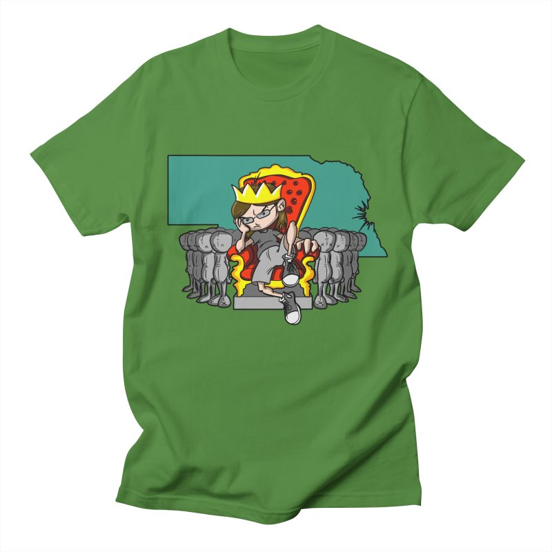 King of Nebraska Women's Regular Unisex T-Shirt by Comedyrockgeek 's Artist Shop