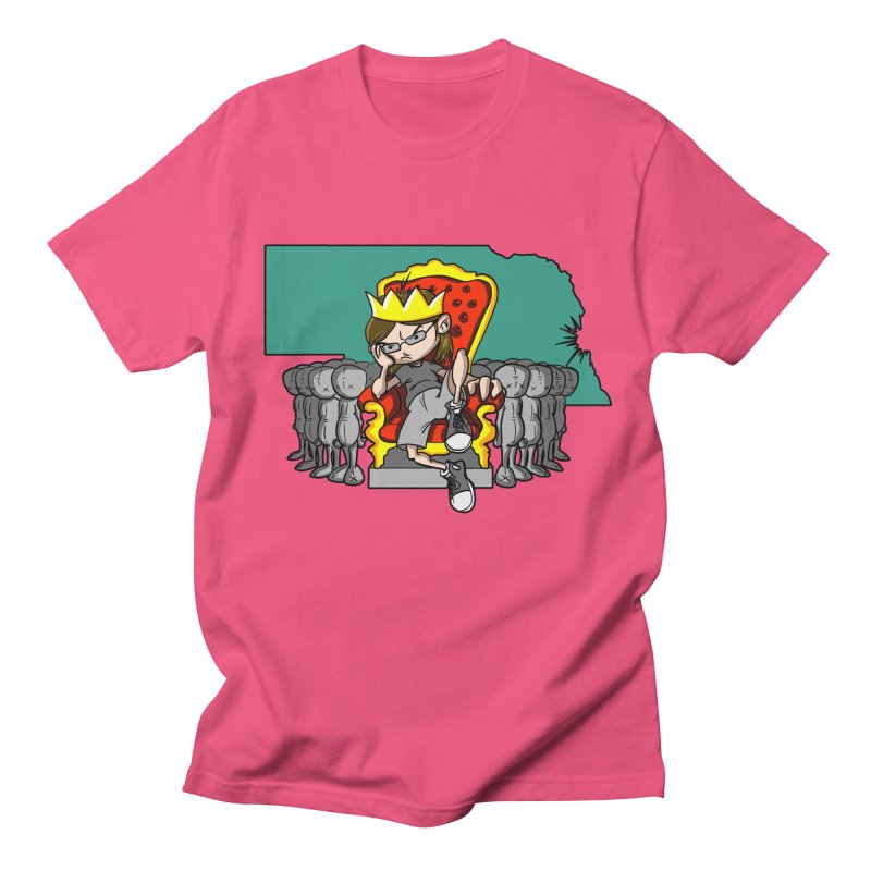 King of Nebraska Men's T-shirt by Comedyrockgeek 's Artist Shop