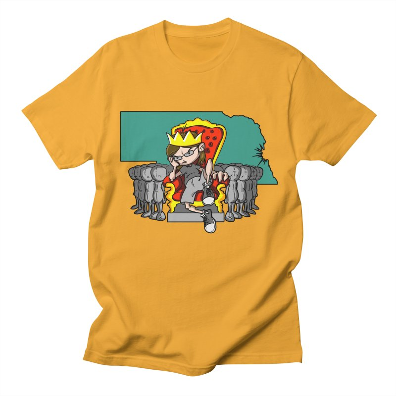 King of Nebraska Women's Unisex T-Shirt by Comedyrockgeek 's Artist Shop