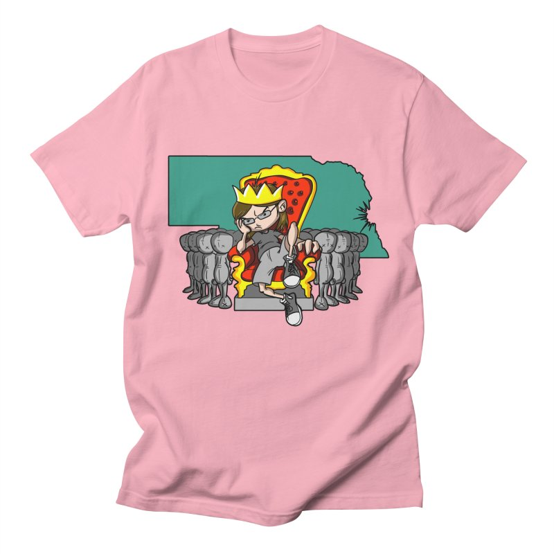 King of Nebraska Men's T-Shirt by Comedyrockgeek 's Artist Shop