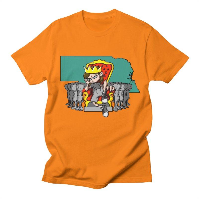King of Nebraska Men's Regular T-Shirt by Comedyrockgeek 's Artist Shop