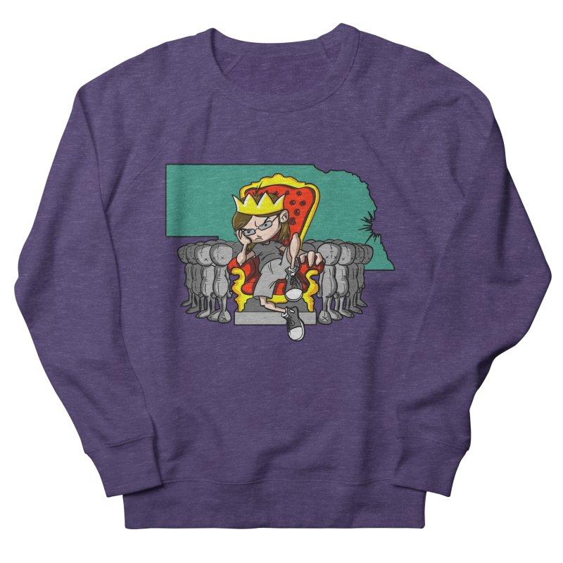 King of Nebraska Men's Sweatshirt by Comedyrockgeek 's Artist Shop
