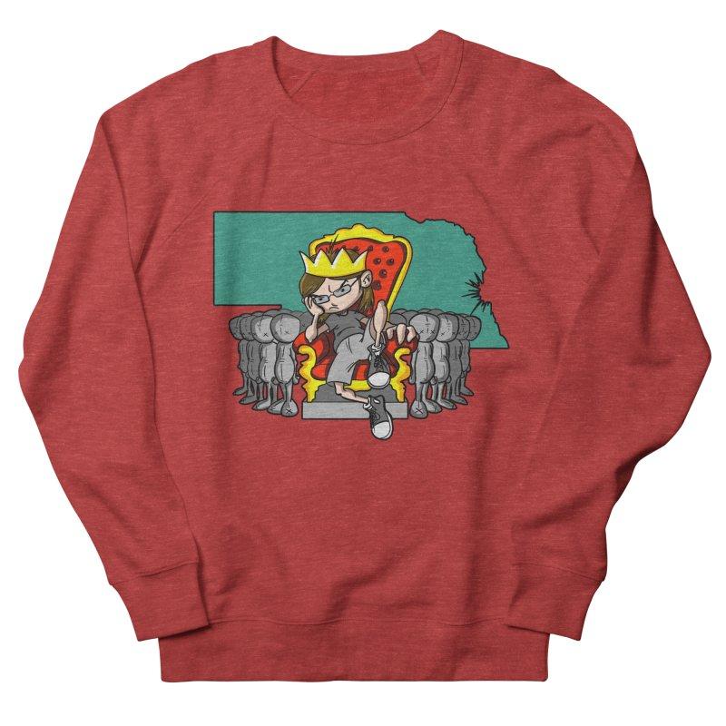 King of Nebraska Men's French Terry Sweatshirt by Comedyrockgeek 's Artist Shop