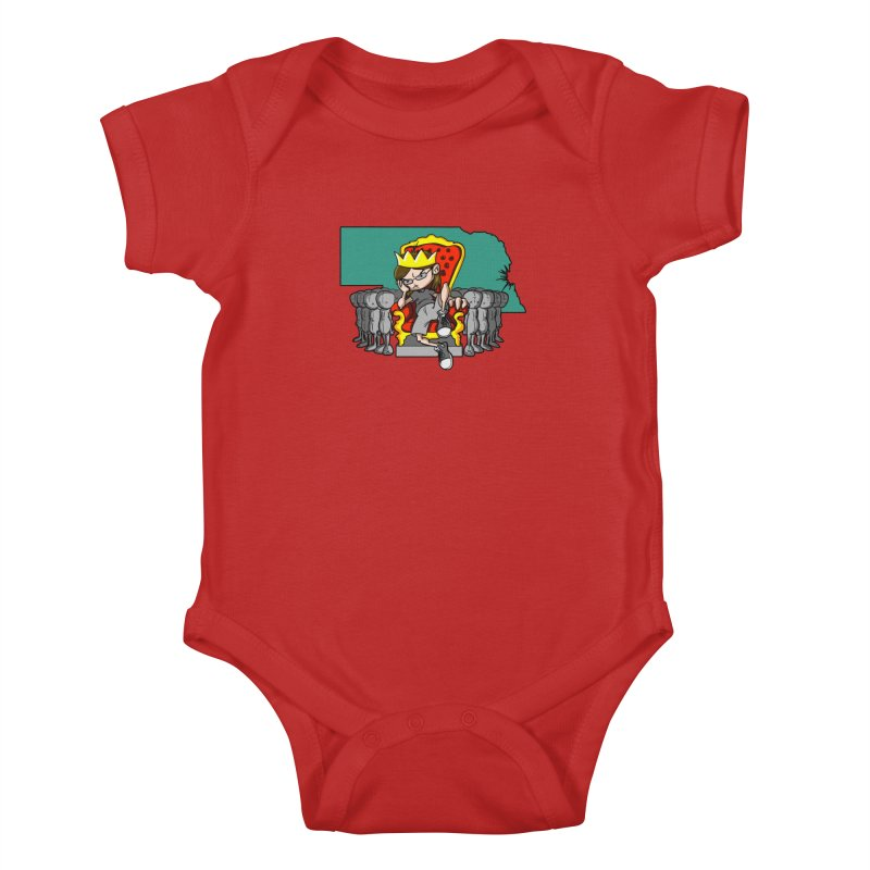 King of Nebraska Kids Baby Bodysuit by Comedyrockgeek 's Artist Shop