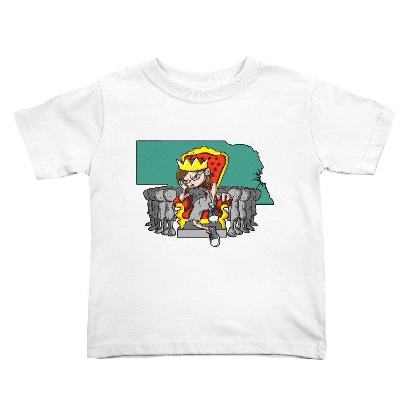 King of Nebraska Kids Toddler T-Shirt by Comedyrockgeek 's Artist Shop