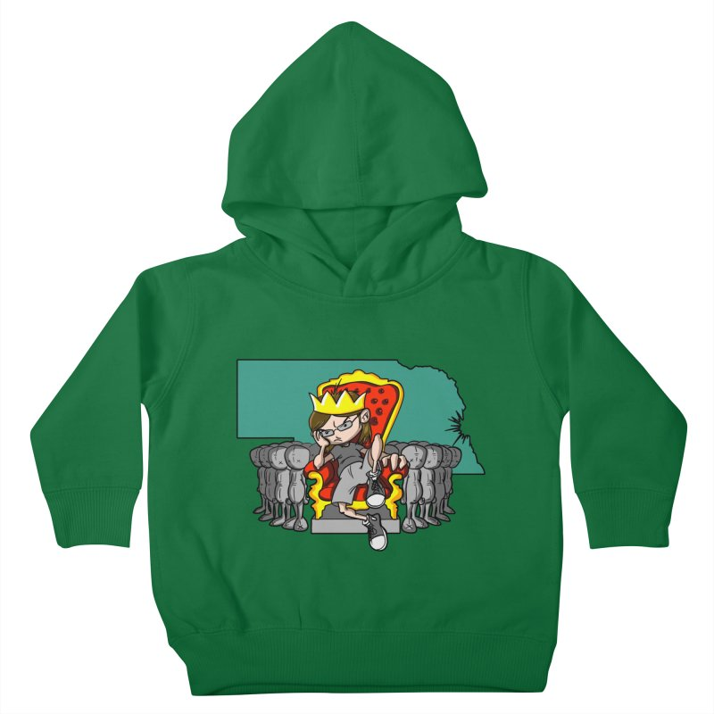 King of Nebraska Kids Toddler Pullover Hoody by Comedyrockgeek 's Artist Shop