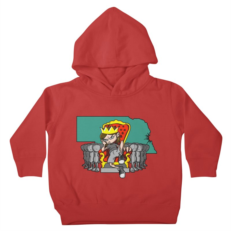 King of Nebraska Kids Toddler Pullover Hoody by Comedyrockgeek 's Artist Shop