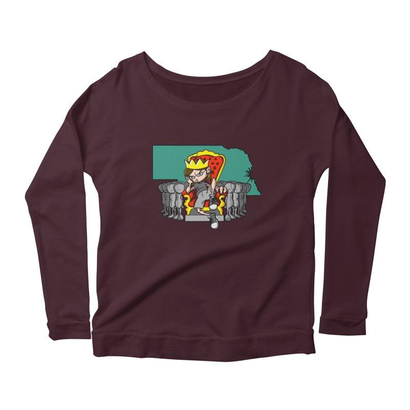 King of Nebraska Women's Longsleeve T-Shirt by Comedyrockgeek 's Artist Shop