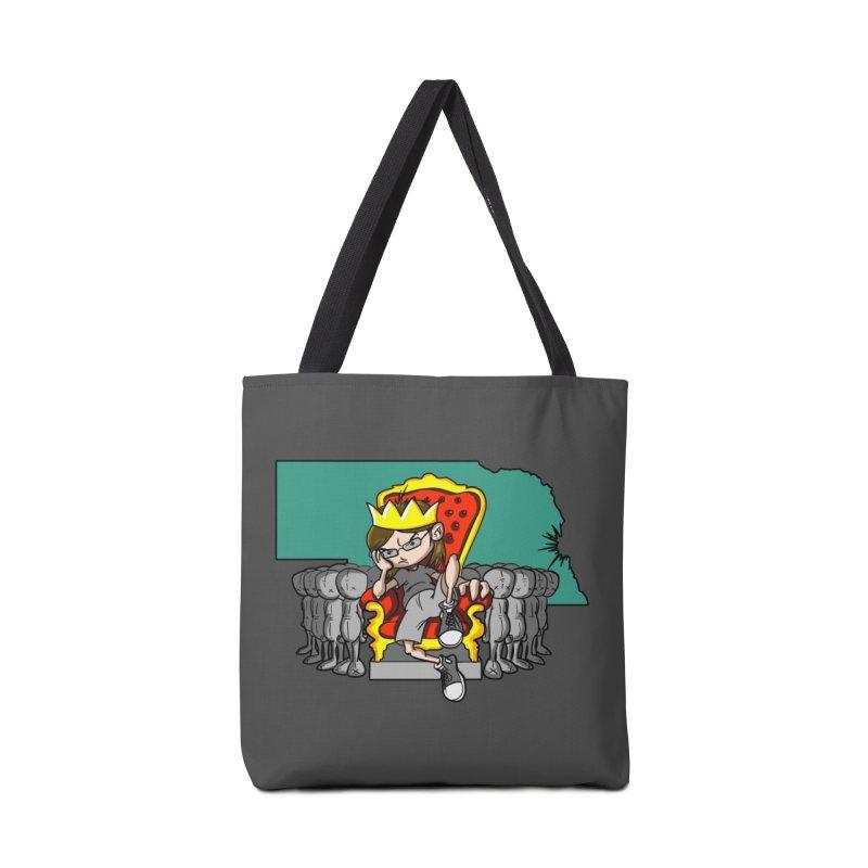 King of Nebraska Accessories Tote Bag Bag by Comedyrockgeek 's Artist Shop