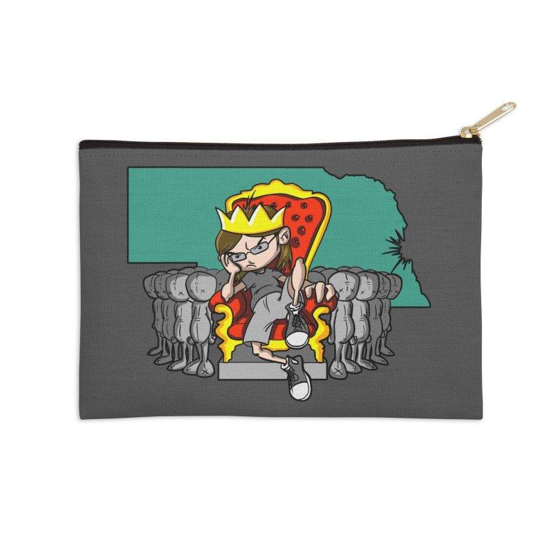 King of Nebraska Accessories Zip Pouch by Comedyrockgeek 's Artist Shop