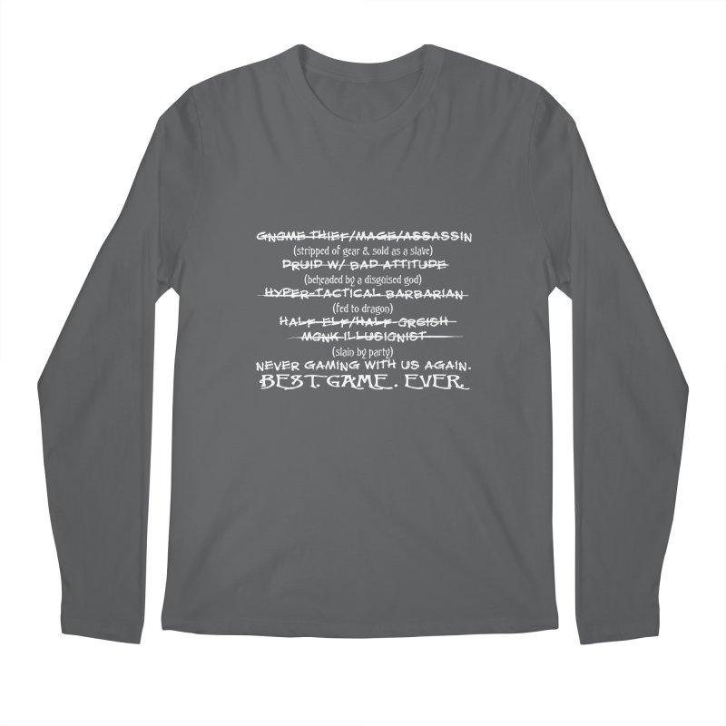 Best Game Ever Men's Longsleeve T-Shirt by Comedyrockgeek 's Artist Shop
