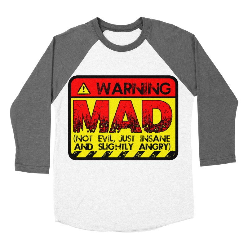 Mad Women's Longsleeve T-Shirt by Comedyrockgeek 's Artist Shop