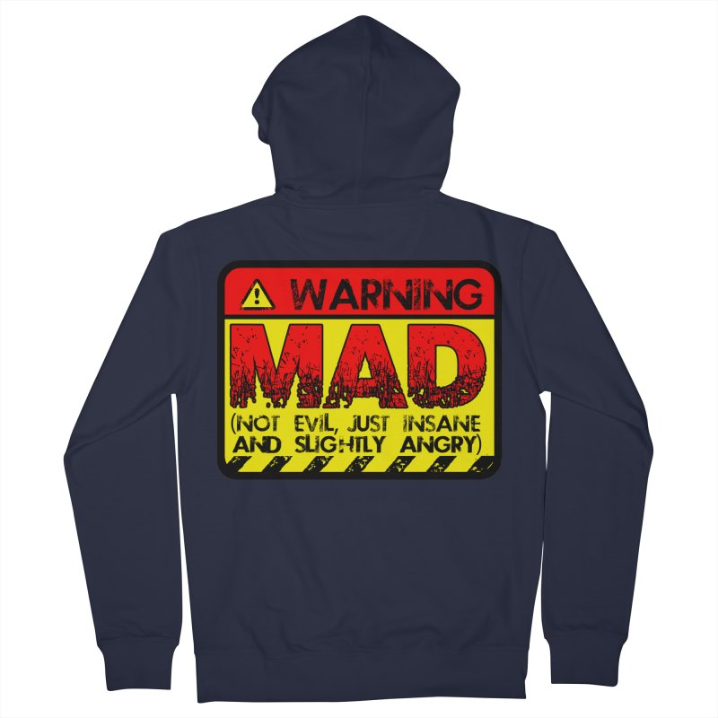 Mad Men's French Terry Zip-Up Hoody by Comedyrockgeek 's Artist Shop
