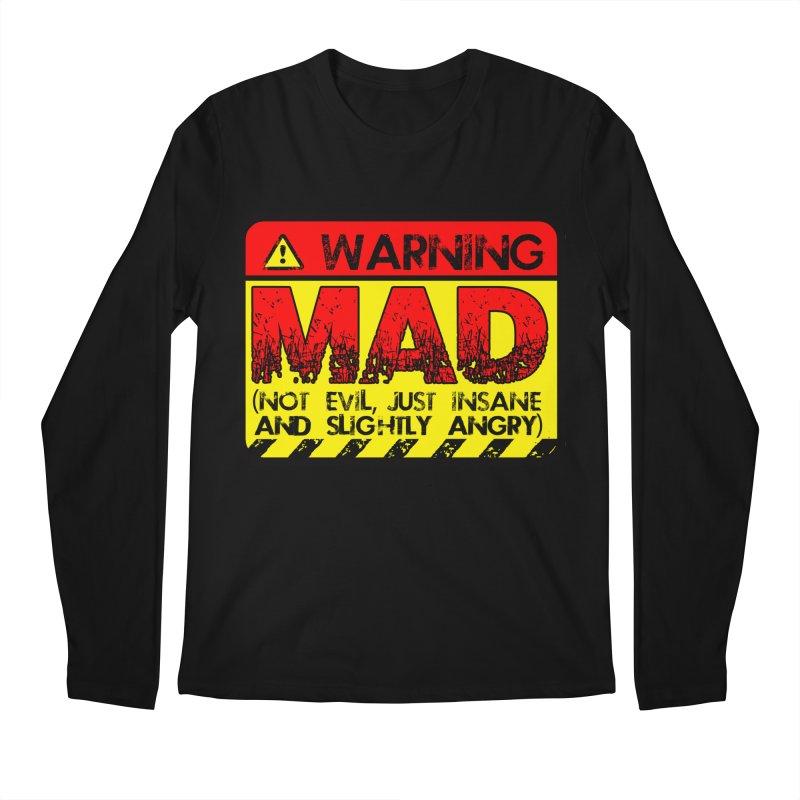 Mad Men's Regular Longsleeve T-Shirt by Comedyrockgeek 's Artist Shop