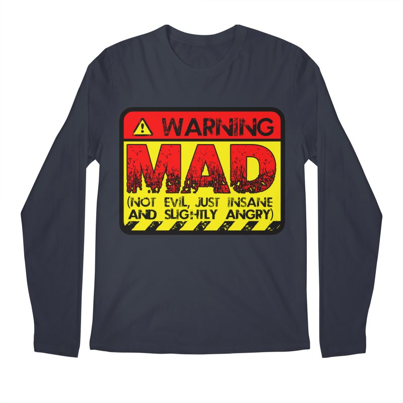 Mad Men's Regular Longsleeve T-Shirt by Comedyrockgeek 's Artist Shop