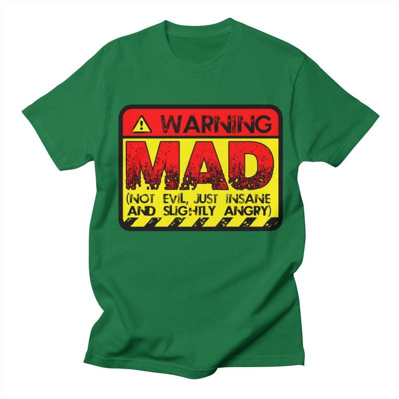 Mad Women's Unisex T-Shirt by Comedyrockgeek 's Artist Shop