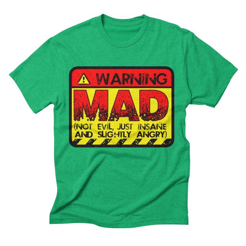 Mad Men's Triblend T-Shirt by Comedyrockgeek 's Artist Shop