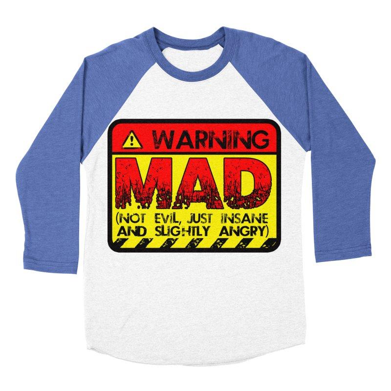 Mad Men's Baseball Triblend Longsleeve T-Shirt by Comedyrockgeek 's Artist Shop