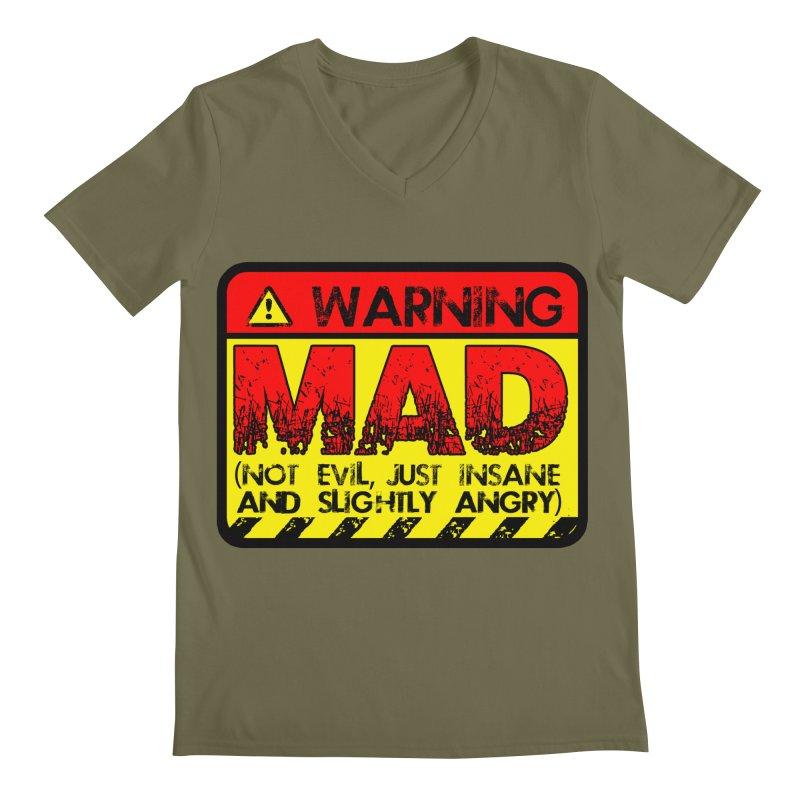 Mad Men's Regular V-Neck by Comedyrockgeek 's Artist Shop