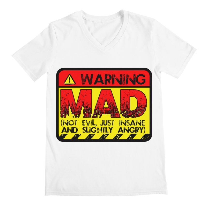 Mad Men's Regular V-Neck by Comedyrockgeek 's Artist Shop
