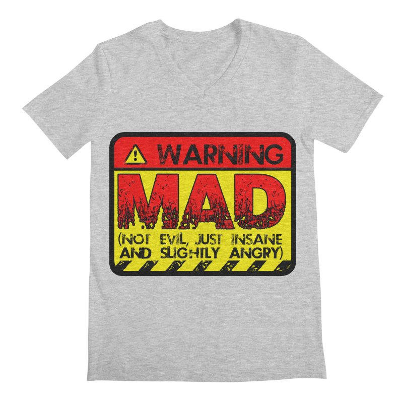 Mad Men's V-Neck by Comedyrockgeek 's Artist Shop