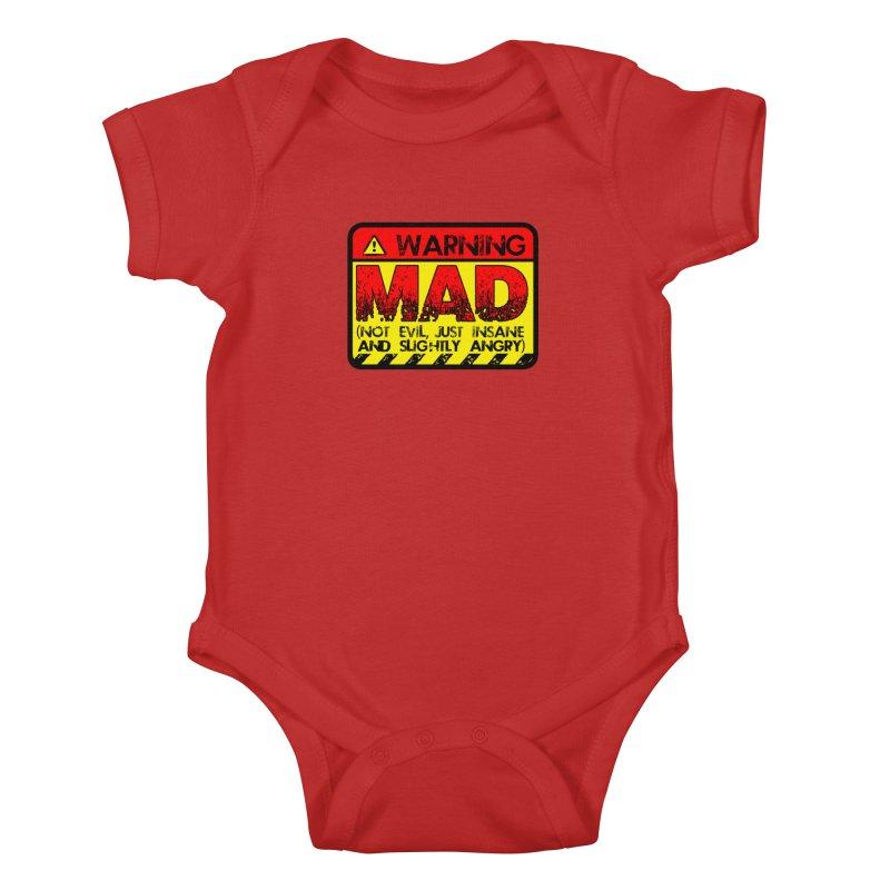 Mad Kids Baby Bodysuit by Comedyrockgeek 's Artist Shop