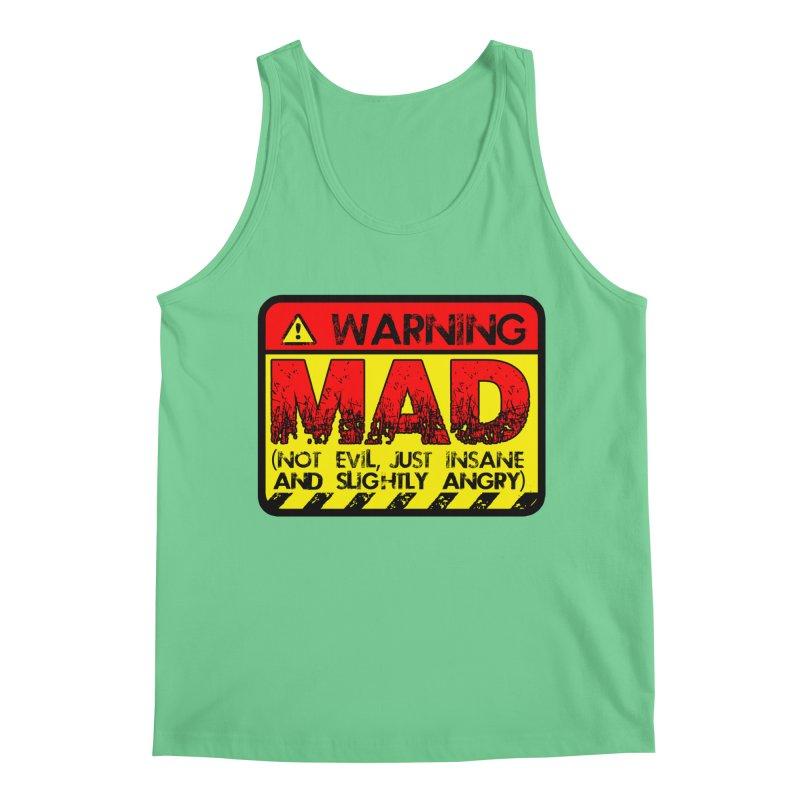 Mad Men's Regular Tank by Comedyrockgeek 's Artist Shop