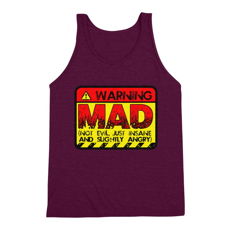 Mad Men's Triblend Tank by Comedyrockgeek 's Artist Shop