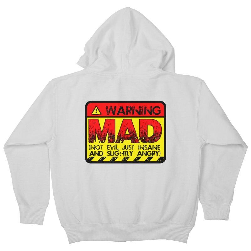 Mad Kids Zip-Up Hoody by Comedyrockgeek 's Artist Shop