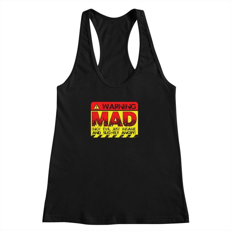 Mad Women's Tank by Comedyrockgeek 's Artist Shop