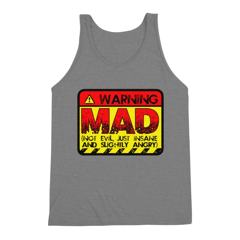 Mad Men's Triblend Tank by Comedyrockgeek 's Artist Shop
