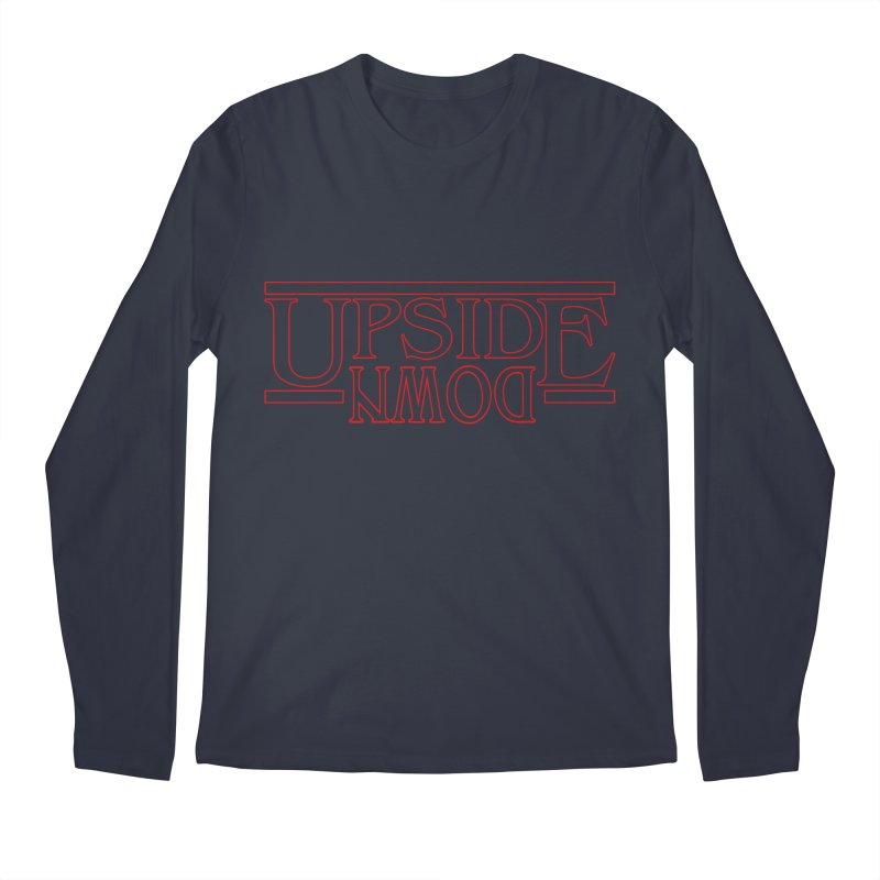 Upside Down Men's Regular Longsleeve T-Shirt by Comedyrockgeek 's Artist Shop