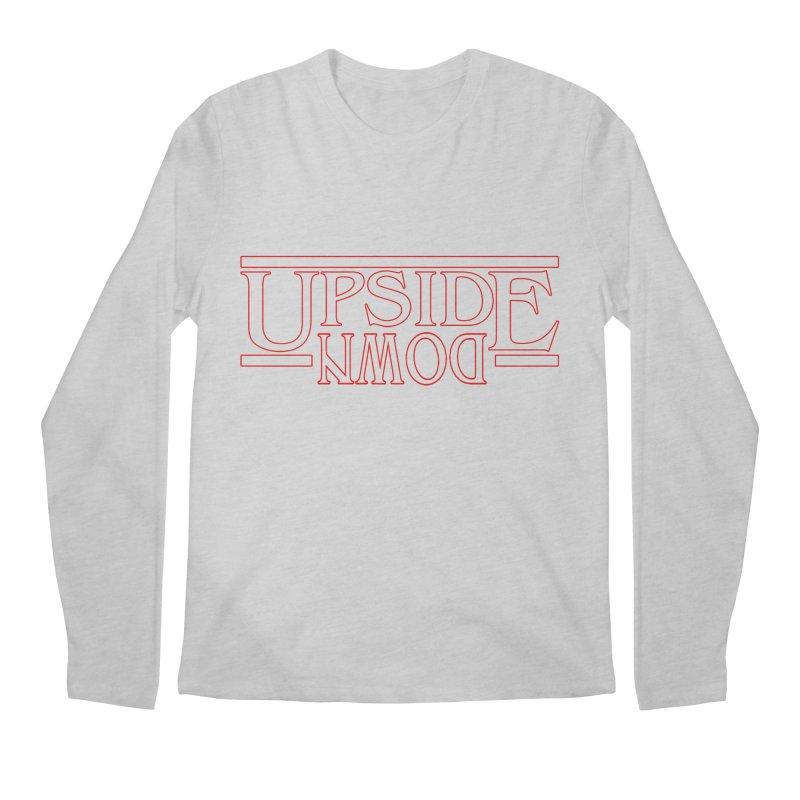Upside Down Men's Longsleeve T-Shirt by Comedyrockgeek 's Artist Shop