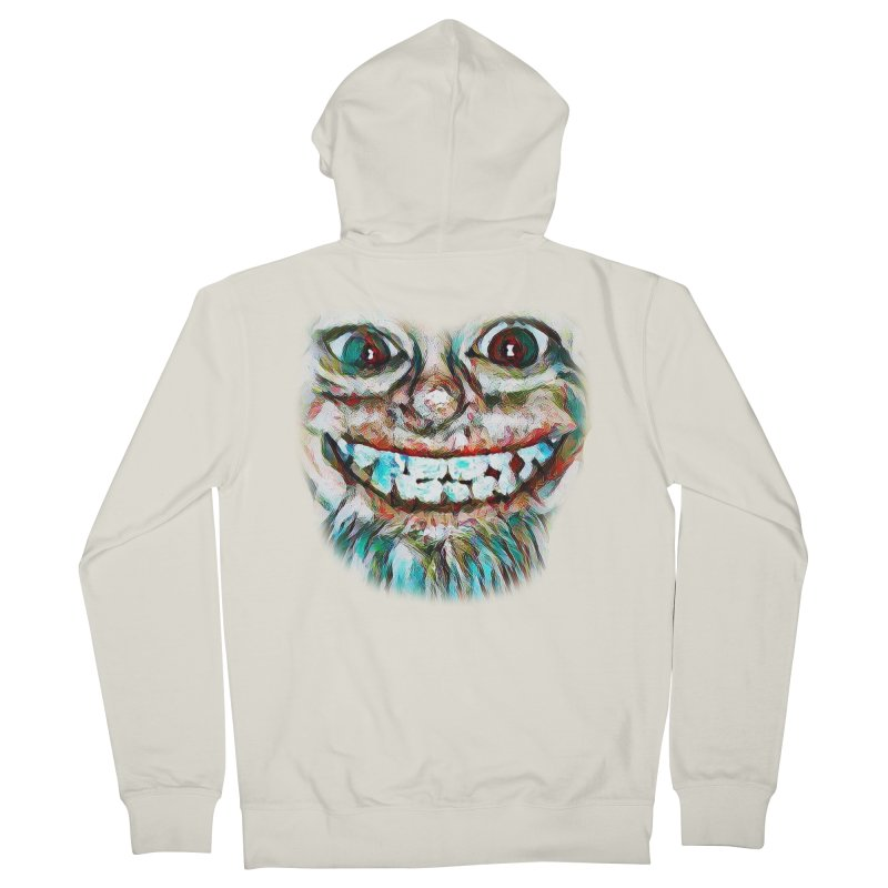 Cheshire Mikey Women's French Terry Zip-Up Hoody by Comedyrockgeek 's Artist Shop
