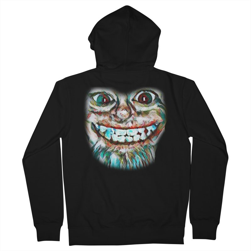 Cheshire Mikey Men's French Terry Zip-Up Hoody by Comedyrockgeek 's Artist Shop