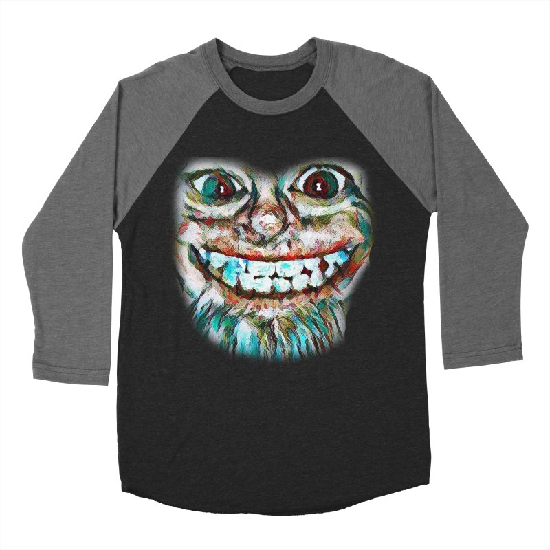 Cheshire Mikey Men's Baseball Triblend Longsleeve T-Shirt by Comedyrockgeek 's Artist Shop