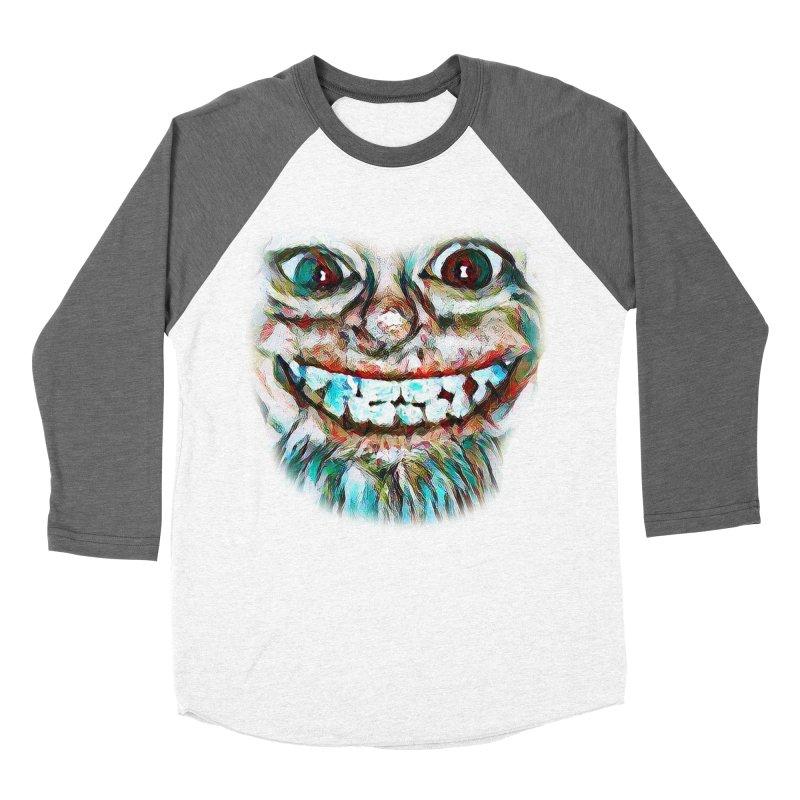 Cheshire Mikey Men's Baseball Triblend Longsleeve T-Shirt by Comedyrockgeek 's Artist Shop