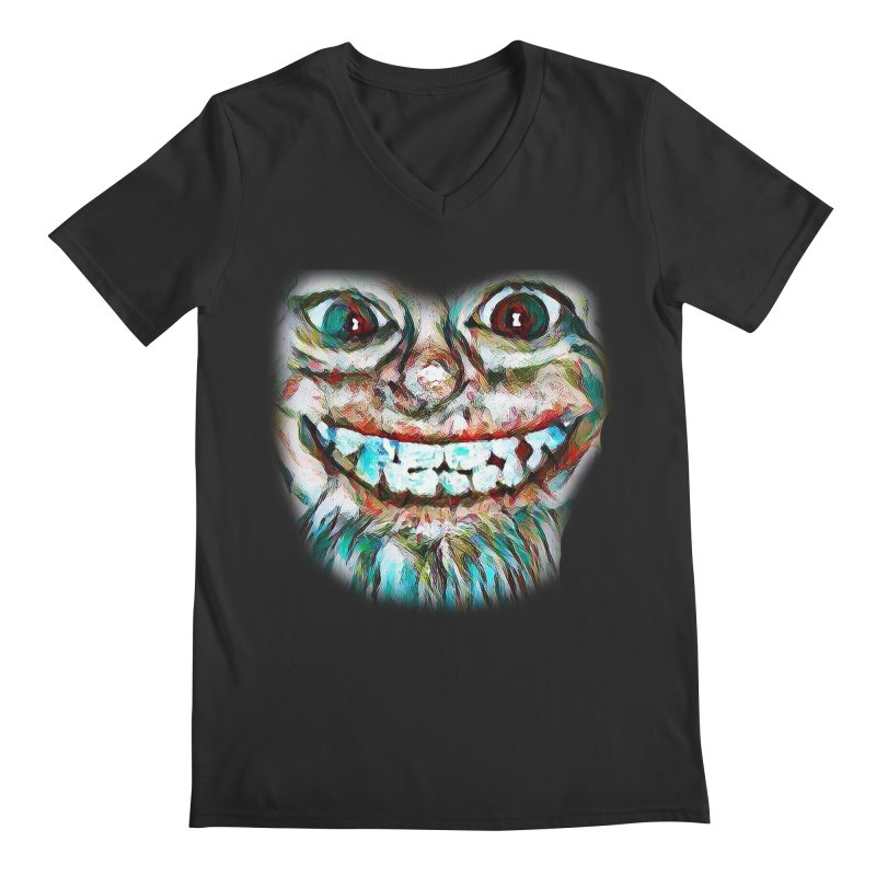 Cheshire Mikey Men's V-Neck by Comedyrockgeek 's Artist Shop