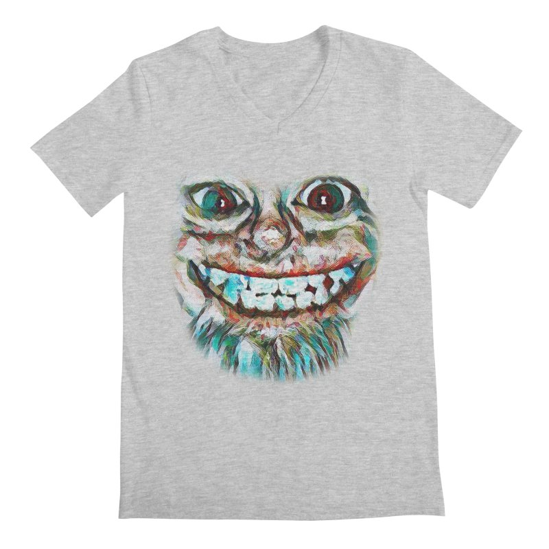 Cheshire Mikey Men's V-Neck by Comedyrockgeek 's Artist Shop