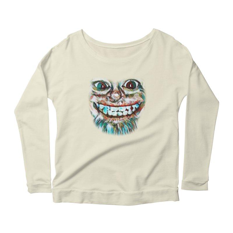 Cheshire Mikey Women's Longsleeve T-Shirt by Comedyrockgeek 's Artist Shop