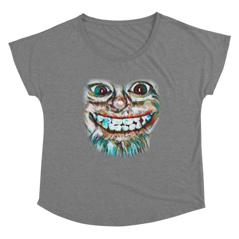 Cheshire Mikey Women's Scoop Neck by Comedyrockgeek 's Artist Shop
