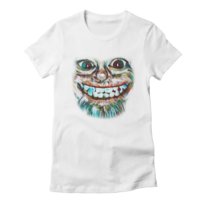 Cheshire Mikey Women's Fitted T-Shirt by Comedyrockgeek 's Artist Shop