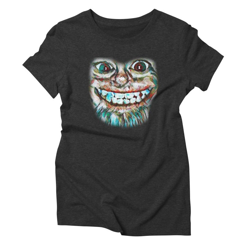 Cheshire Mikey Women's Triblend T-Shirt by Comedyrockgeek 's Artist Shop