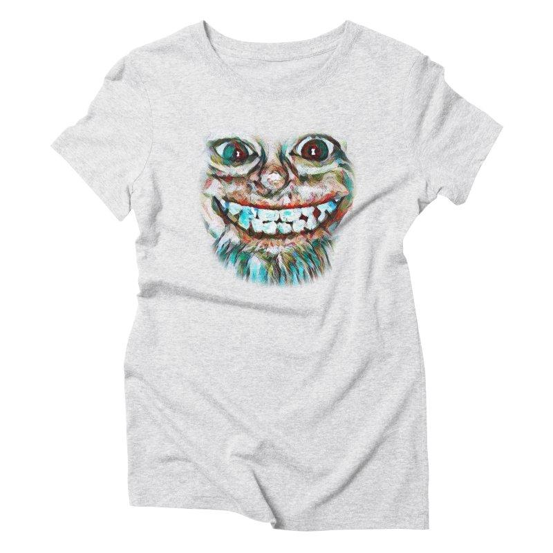 Cheshire Mikey Women's Triblend T-Shirt by Comedyrockgeek 's Artist Shop