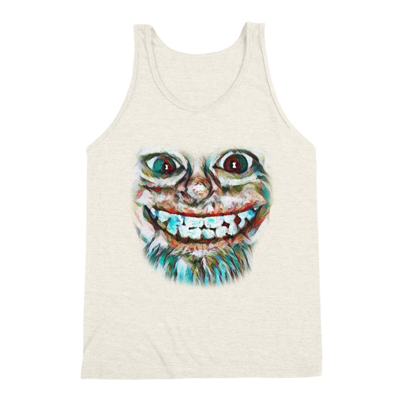 Cheshire Mikey Men's Triblend Tank by Comedyrockgeek 's Artist Shop